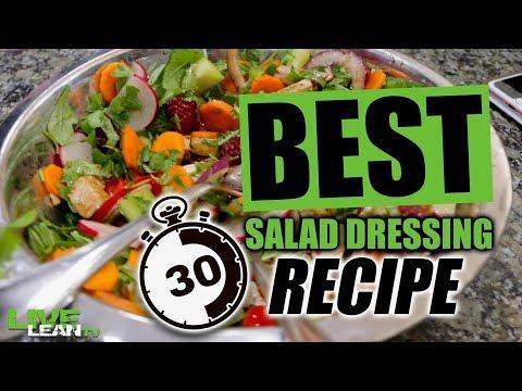 BEST 30-Second Salad Dressing Recipe