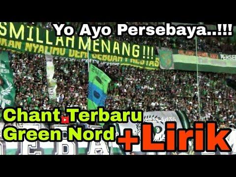 Hafalkan Lur..!! Chant Yo Ayo Persebaya + Lirik, Bonek Green Nord   Persebaya vs Madura United