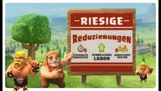 CLASH OF CLANS👑 UPDATE APRIL 2019👑GERMAN HD