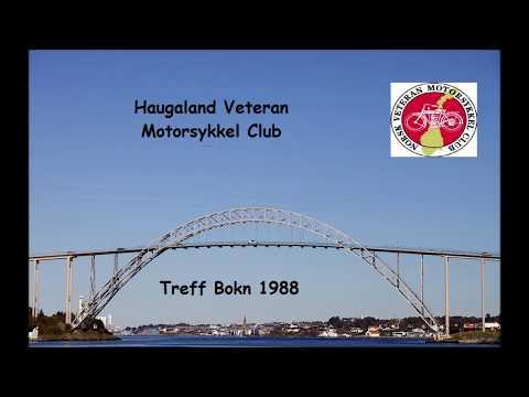 Veteran Motorsykkeltreff Bokn Rogaland 1988