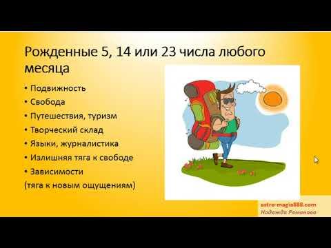 Миссия рожденных 5, 14, 23 числа