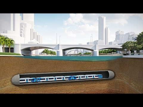 Melbourne Metro Rail Project - Tunnelling under the Yarra River