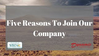 Dynamic Transit Co. | Five Reasons To Join Our Company