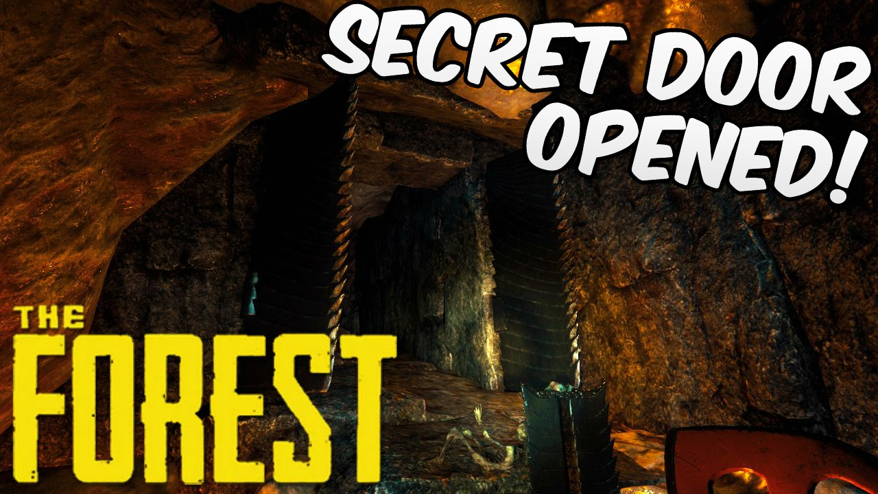 The Forest Gameplay | SECRET CAVE DOOR OPENED!! | HD 60FPS   YouTube