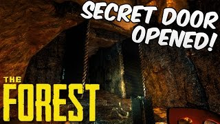 The Forest Gameplay | SECRET CAVE DOOR OPENED!! | HD 60FPS