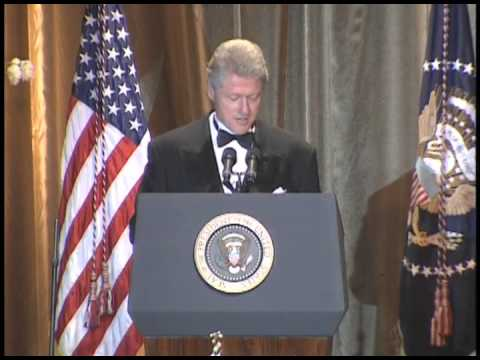 President Clinton at the Access Now for Gay and Lesbian Rights Dinner (1999)