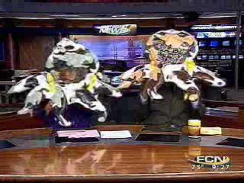 "Frolicking Floaters - WTLV-TV ""Good Morning Jacksonville"""