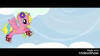Chipa lipa|пони клип (отрывок)| мой первый пони клип