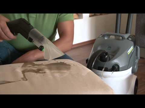 Kärcher stoomreiniger maakt iedere bank met minder moeite grondiger schoon.