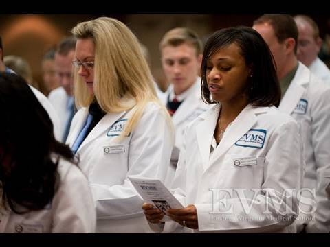 Evms 2010 Pa White Coat Ceremony Youtube