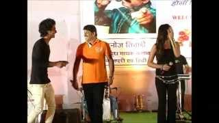 Manoj Tiwari in Hyderabad part 3.