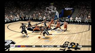NBA Live 08 -- Gameplay (PS2)