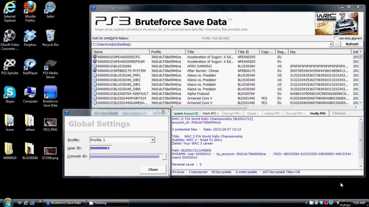 [PS3] BruteForce Savedata Tutorial Update