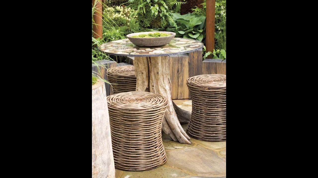 Ideas de diseño de jardín rústico - YouTube