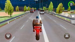 Racing Moto - Gameplay Android games - realistic moto race game