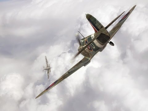 DCS World: First Dogfight In The Spitfire!