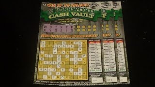 The Early Word 54: $3 CROSSWORD CASH VAULT FL Lottery Scratch Tickets