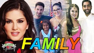 Karenjit Kaur (Sunny Leone) Family With Parents, Husband, Son, daughter and Affair