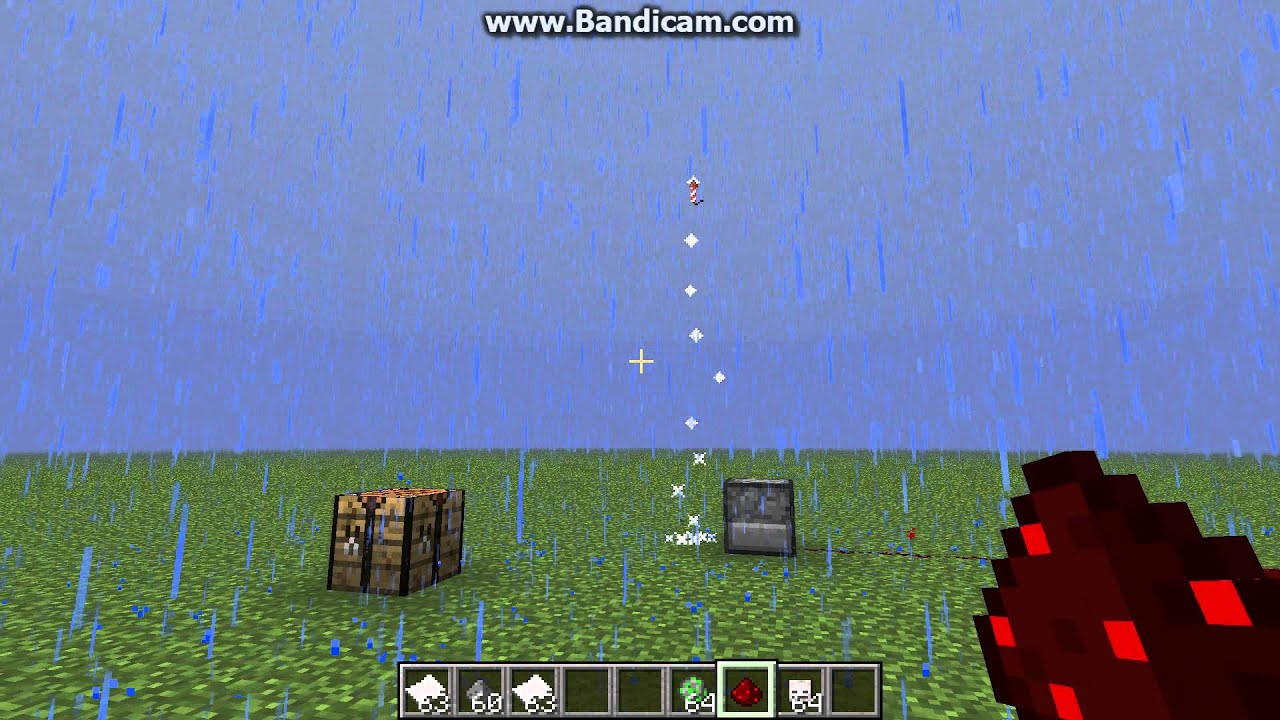 how to make fireworks in minecraft 1.8