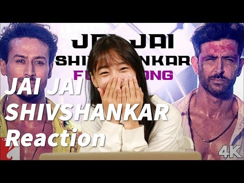 Jai Jai Shivshankar Full Song Reaction By K-girl