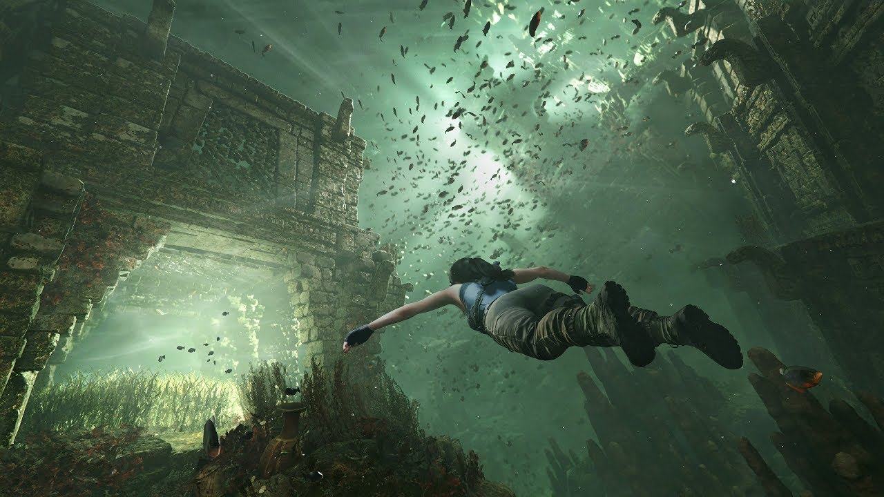 Пираньи в игре Shadow of the Tomb Raider.
