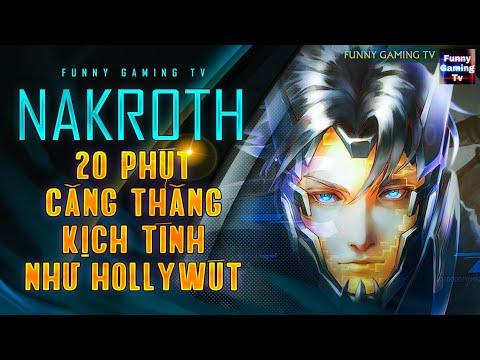 LIÊN QUÂN | Trận đấu Kinh Dị Mỹ của Nakroth khi về giai đoạn Late Game | FUNNY GAMING TV