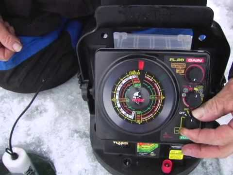 Dave Genz and the Vexilar FL-20 Fish Finder