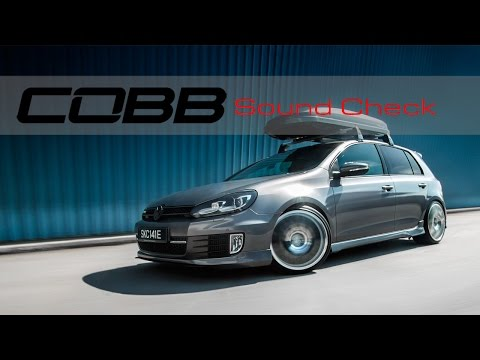COBB Tuning – Volkswagen MK6 GTI Sound Check