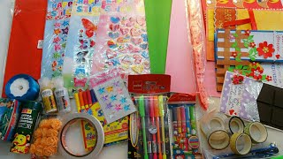 Craft and Stationery Giveaway | 50K Subscriber Giveaway(Closed) | Crafting With Rachna