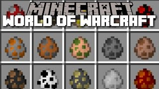 Minecraft WORLD OF WARCRAFT MOD / SPAWN AND FIGHT WOW MOBS AND WIN AGAINST THEM!! Minecraft
