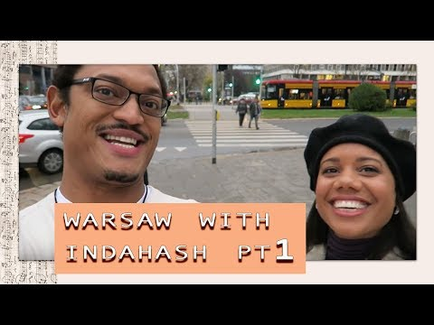 #2: Warsaw with Indahash Pt.1 | 100 Day Travel Vlog