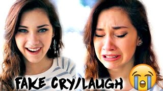 HOW TO FAKE CRY, LAUGH & MORE, FAST! | JENNA LARSON
