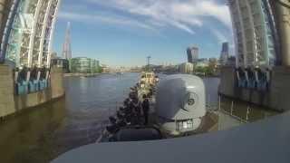 Revierfahrt nach London