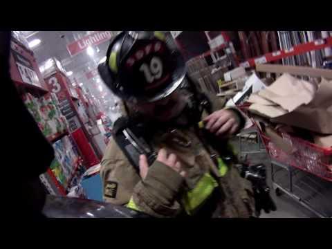 Home Depot Fire