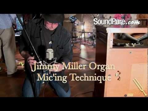 How to Mic a Hammond B3 Organ with a Leslie Speaker - Jimmy Miller Technique