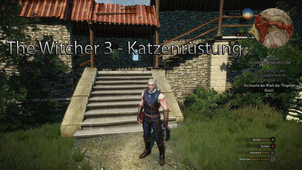 The Witcher 3 Katzenrüstung