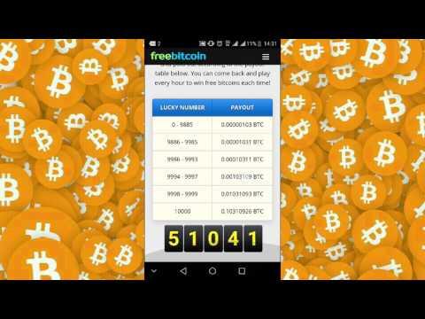 Make Free Bitcoin With Freebitco.in