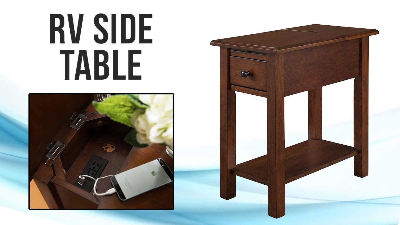 Rvs Side Table.Rv Side Table Recpro