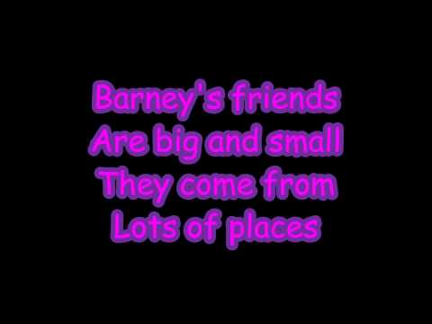 Barney Theme Song Lyrics