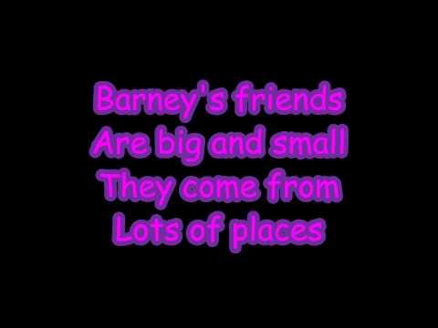 Barney Theme Sg Lyrics