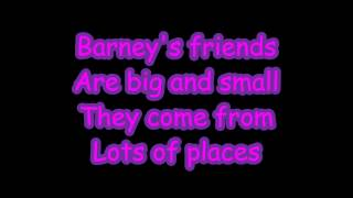 Barney Theme Song Lyrics