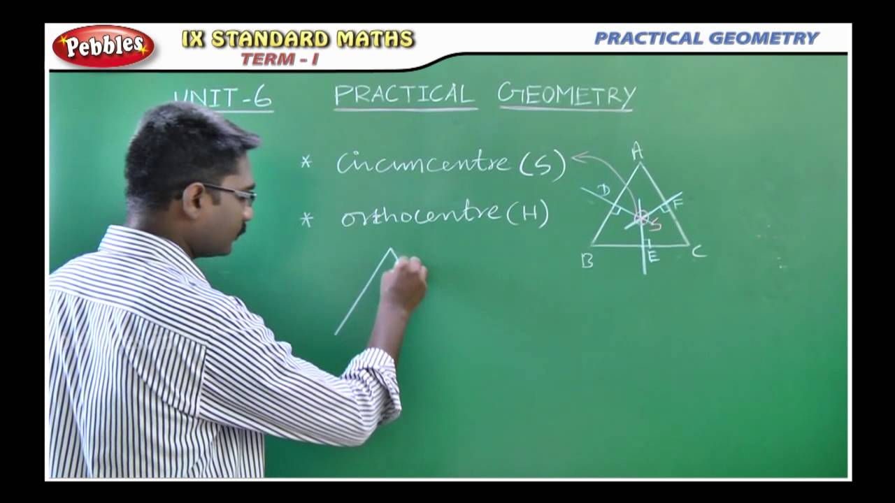 PRACTICAL GEOMETRY || Mathematics || 9th Std Maths - YouTube