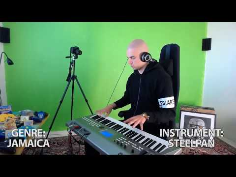 when you try all the sounds and beats on your synth while only playing toto - africa