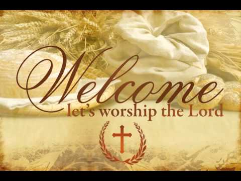 [Free video loops] Worship Welcome