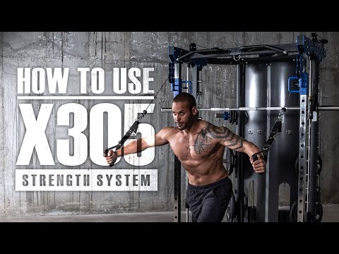 HOW TO USE | Ultra-Max X305 Smith / Functional Trainer/ Half Rack
