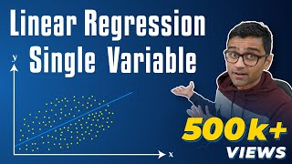 Machine Learning Tutorial With Python - 2: Linear Regression Single Variable