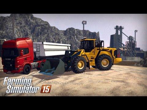 Farming Simulator 15 - Volvo L180F (Mining & Construction Economy Mod)