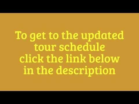 Zac Brown Band Tour Schedule