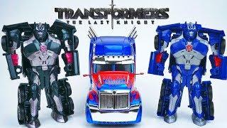 Transformers the Last Knight Optimus Prime All Spark Cube vs Nemesis Prime