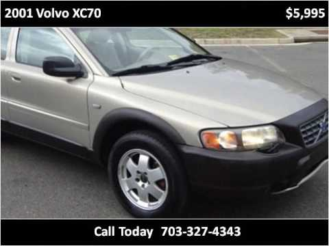 2001 volvo xc70 used cars chantilly va youtube. Black Bedroom Furniture Sets. Home Design Ideas